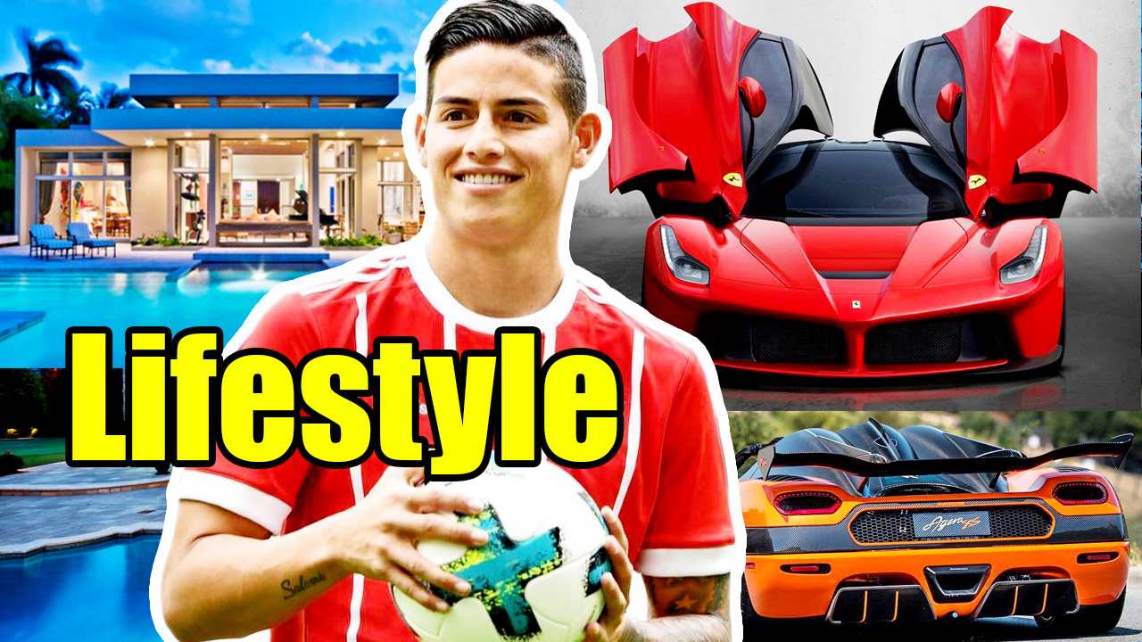 James Rodríguez Age, Height, Weight, Net Worth, Cars, Nickname, Wife, Affairs, Biography, Children