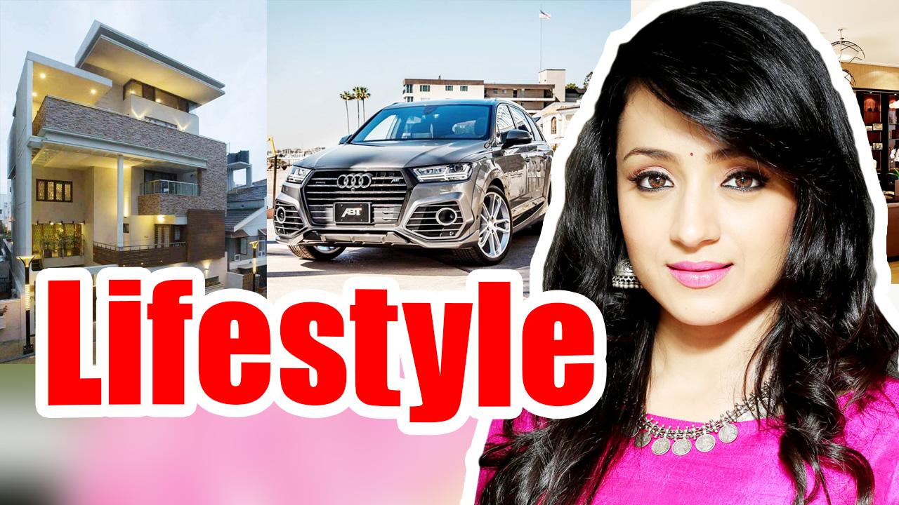 Trisha Krishnan Net Worth, Lifestyle, Cars, House, Trisha Krishnan Biography 2018, All Celebrity Lifestyle